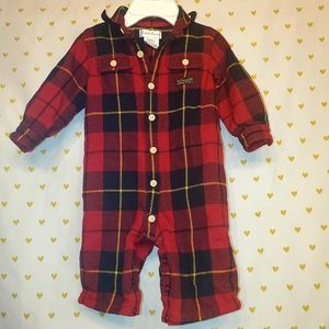 Ralph Lauren Red Flannel Outfit
